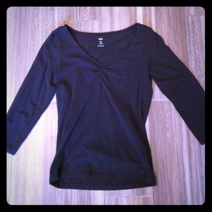 Black Top ballet - 3/4 sleeve
